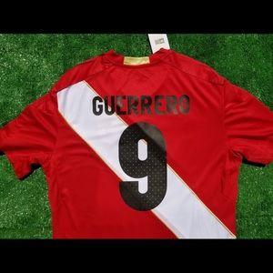 Umbro Shirts - 2018 Peru away soccer jersey Guerrero dce235d82